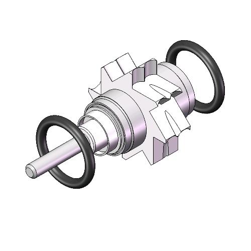 KaVo Opti-Torque 649 B / SUPERtorque 647 B Push Button Premium EZ Install  Turbine