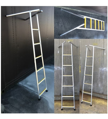 ALUMINUM TANK ENTRY LADDER