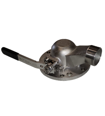 PEROLO DN50 X DN80 ATCO 90 DEGREE BALL VALVE