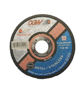 "4.5"" X 7/8"" CUT OFF WHEEL - 0.045"" THICK"