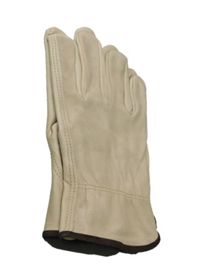LEATHER GLOVE - LARGE - PER PAIR
