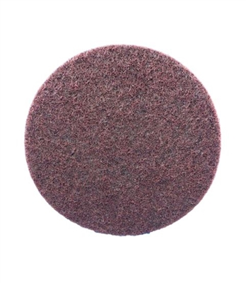 "7"" MAROON HOOK AND LOOP SANDING DISC - MEDIUM AL OXIDE - 3M PRODUCT"