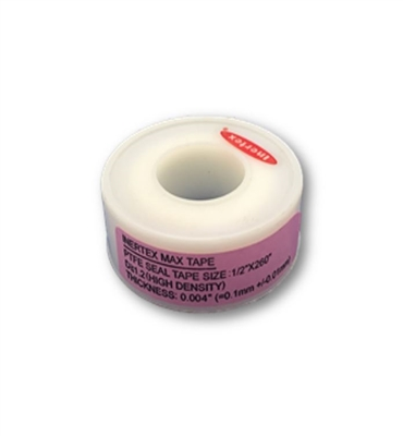 "1/2"" HIGH DENSITY TEFLON TAPE - PER ROLL"