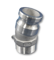 "2"" NPT X 15 DEGREE CAMLOCK ADAPTER - 316SS"