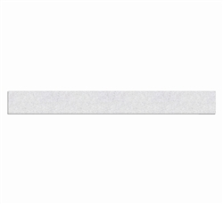 "PR-TH-3490 -Preformed Thermoplastic Pavement Marking Lines 4"" x 3' - 125 MIL White - (Sq. Ft Per Pack 30)"