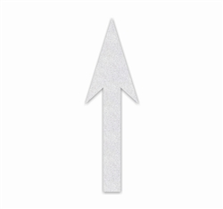 "PR-TH-3524 - Preformed Thermoplastic Straight Arrow Standard Symbol - 9'6""  x 3'3"" - 90 MIL White - (Qty 2)"