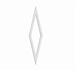 "PR-TH-3794 - Preformed Thermoplastic Diamond Symbol 6' x 1'6"" - 125 MIL White (Qty 5)"
