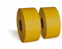 "PR-TH-3906 - Preformed Thermoplastic Pavement Marking Rolls 6"" x 30' - 125 MIL Yellow - (Qty 2)"