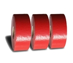 "PR-TH-3918 - Preformed Thermoplastic Pavement Marking Rolls 4"" x 30' - 125 MIL Red - (Qty 3)"