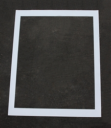 "Pavement Marking Stencils - Maxi - 39 inch - Handicap Background - 1/8"" - STL-108-3039B"