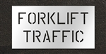 "Pavement Marking Stencils - Duro - 6 inch - Forklift Traffic - 1/16"" - STL-116-10602"