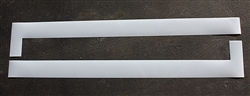 "Pavement Marking Stencils - Duro - 9 inch - Wheel Stop - 1/16"" - STL-116-5050"