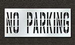 "Pavement Marking Stencils - Duro - 36 inch - NO PARKING - 1/16"" - STL-116-73632"