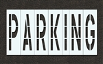 "Pavement Marking Stencils - Duro - 96 inch - PARKING - 1/16"" - STL-116-79622"