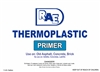Thermoplastic Primer - For Use on Old Asphalt, Concrete, and Brick