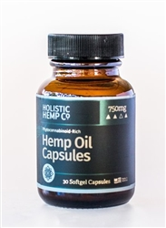 Hemp CBD-Rich Oil Capsule