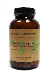 Meridian Remedies Cholesterol Support