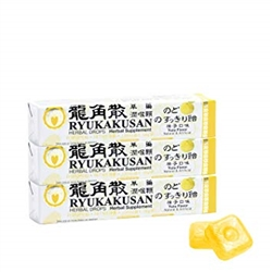 Ryukakusan Herbal Drops - Yuzu (11 Drops)