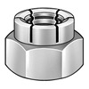 1/2-13  Flex Type Lock Nut Full Height Light Hex Cadmium and Wax [100 pieces]