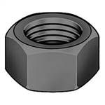 1/2-20  Finished Hex Nut Grade 8 Fine Thread Plain Steel [1800 pieces]