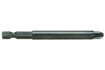"#1PZD Pozidriv®-alt Power Bit 1/4"" Hex X 1-15/16"" L"