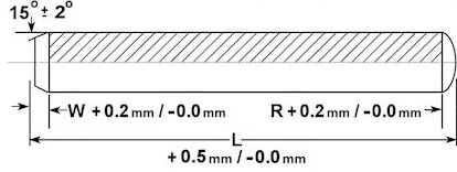Metric Precision Dowel Pin