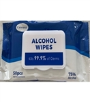 75% Ethyl Alcohol Wipes