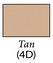 Carefree JG254D4D-MP Cut-to-Fit Replacement RV Awning Fabric - Tan - 24'2""