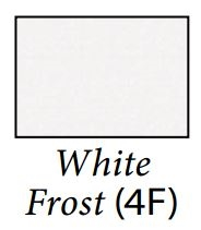 Carefree JG254F4F-MP Cut-to-Fit Replacement RV Awning Fabric - White Frost - 24'2""