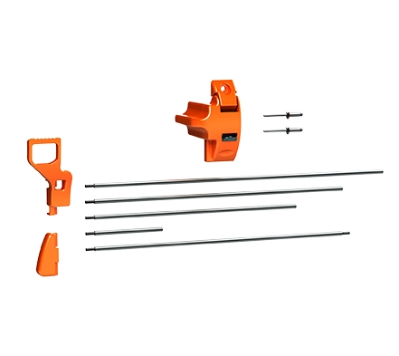 Carefree 901099HD Fiesta/Spirit FX Awning HD Lock Upgrade Combo Kit - Orange
