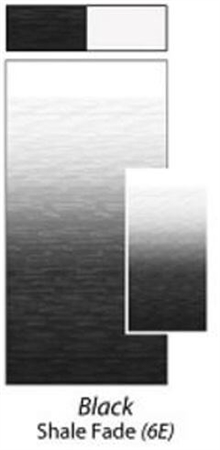 Carefree JU166E00 RV Awning Vinyl Fabric 16' - Black Shale Fade with White Weatherguard