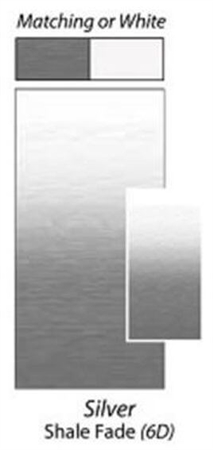 Carefree JU206D00 RV Awning Vinyl Fabric 20' - Silver Shale Fade With White Weatherguard