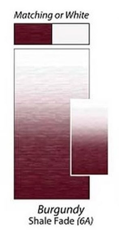 Carefree JU216A00 RV Awning Vinyl Fabric 21' - Burgundy Shale Fade With White Weatherguard