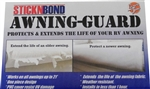 Leisure Time 60099 StickNBond Awning Guard - White