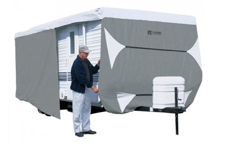 PolyPro-3 Travel Trailer Cover - 35-38'L