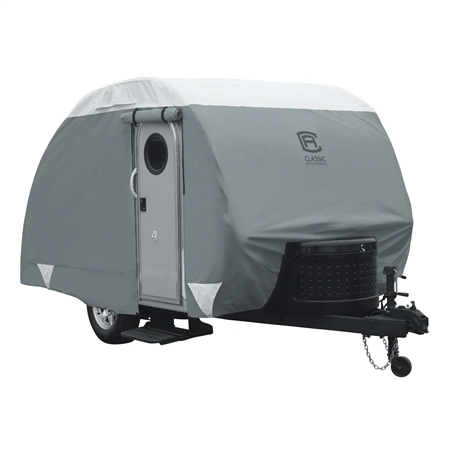 Classic Accessories 80-296-143101-RT OverDrive PolyPRO 3 Deluxe Cover Fits 8' Teardrop Trailers