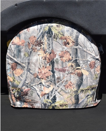 "ADCO 3652 Game Creek Oaks Camouflage RV Tyre Gard Tire Cover - (#2) 30"" - 32"" Pair"