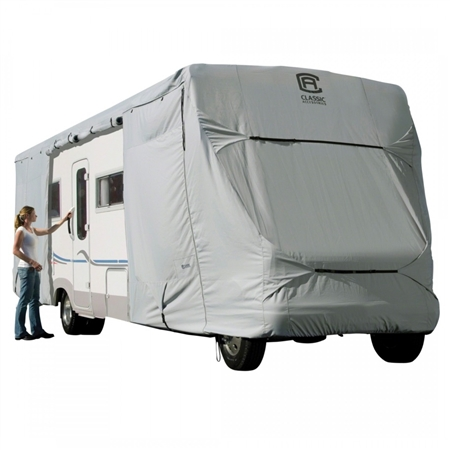 Classic Accessories 80-130-171001-00 PermaPRO Class C RV Cover - Model 4 - 26'-29'