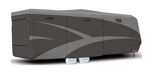 Designer Series SFS Aquashed 30' Toy Hauler Cover