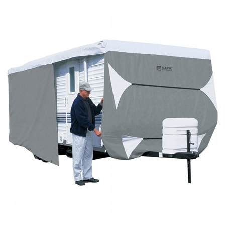 Classic Accessories Up To 20' PolyPRO 3 Travel Trailer Cover-Model 1