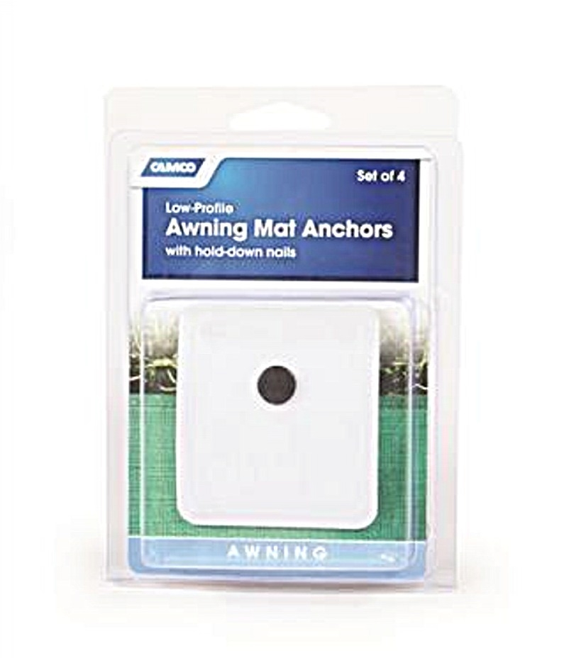 Camco 45631 Rv Awning Mat Anchors 4 Pack