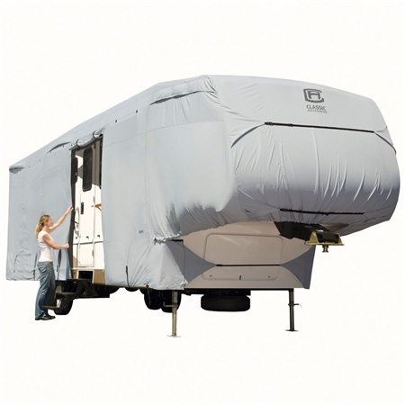 Classic Accessories 80-317-161001-RT Overdrive PermaPro Deluxe Cover for 26' to 29' 5th Wheel Trailers