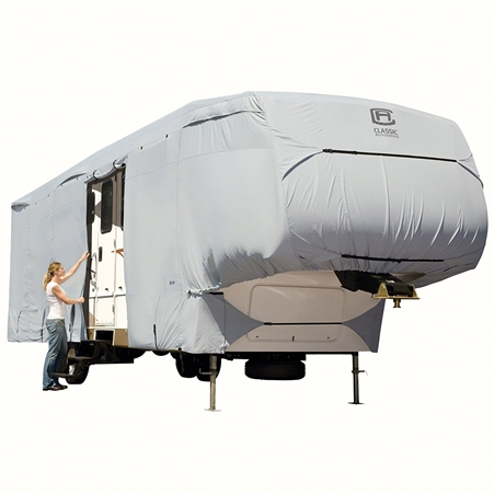 Classic Accessories 80-319-181001-RT Overdrive PermaPro Deluxe Cover for 33' to 37' 5th Wheel Trailers