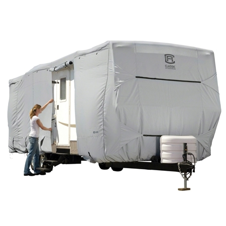 Classic Accessories 80-141-211001-00 PermaPRO 35'-38' Travel Trailer Cover - Model 8