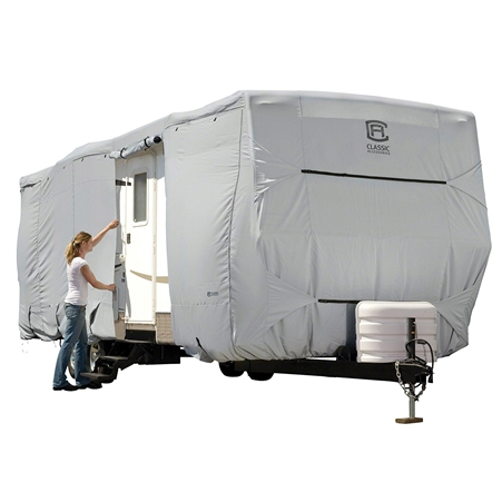 Classic Accessories 80-327-221001-RT Overdrive PermaPro Heavy Duty Cover for 38' to 40' Travel Trailers