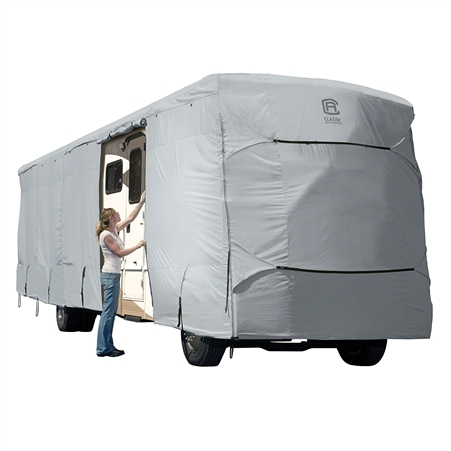 Classic Accessories 80-329-171001-RT Overdrive PermaPro Heavy Duty Cover for 28' to 30' for Class A RV's