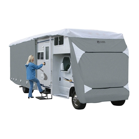Classic Accessories 80-345-203101-RT Overdrive PolyPro 3 Deluxe Class C RV Cover, Fits 35' - 38' RVs