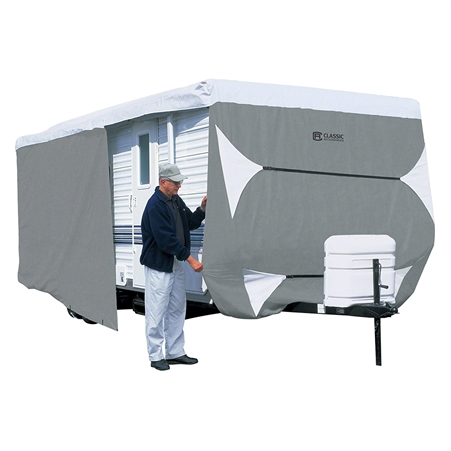 Classic Accessories 80-356-213101-RT Overdrive PolyPro 3 Deluxe Cover for 35' to 38' Travel Trailers