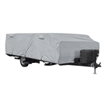 "Classic Accessories 80-400-301001-RT PermaPro RV Cover for Up To 8.6"" Long Folding Camping Trailers"
