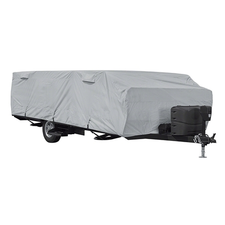 "Classic Accessories 80-401-141001-RT PermaPro RV Cover for Up To 8"" - 10"" Long Folding Camping Trailers"
